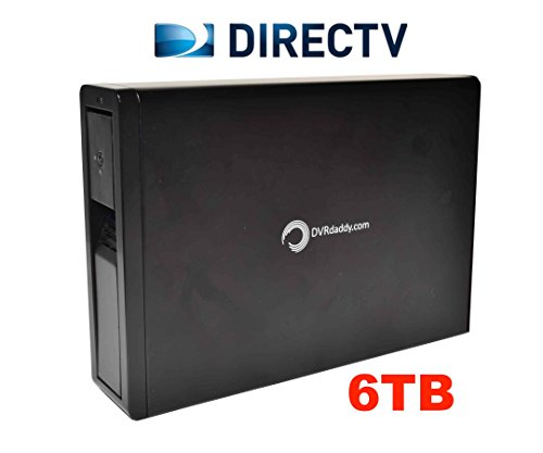 6TB-DVRdaddy-External-DVR-Hard-Drive-Expander-For-DirecTV-HR34-HR44-and-HR54-Genie-DVR-6000-Hours-Recording-Capacity-and