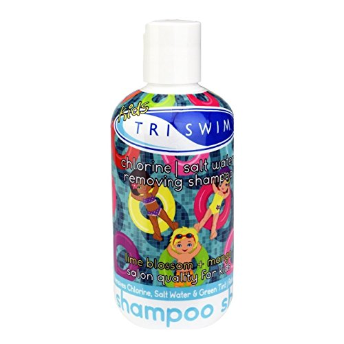 TRISWIM Chlorine Removal Kids Shampoo, 8.5 Ounce (Best Shampoo To Get Rid Of Chlorine)