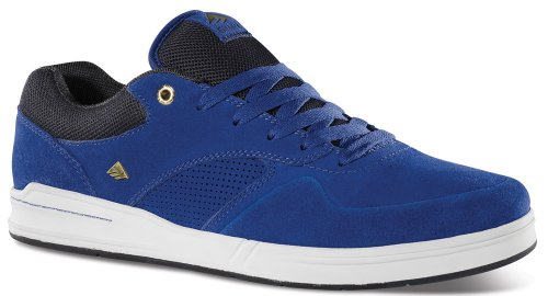 Emerica The Heritic Men's Fashion Sneakers Blue Size 11 M