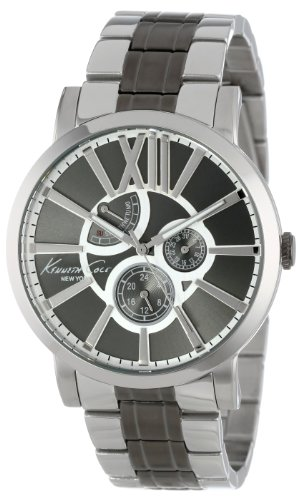 Kenneth Cole New York Men's Quartz Stainless Steel Case Stainless Steel Bracelet Two Tone Casual watch,(Model:KC9282)