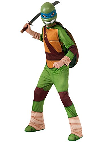 Teenage Mutant Ninja Turtles Leonardo Costume, (Blue Ninja Turtle Costume)