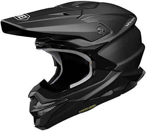 (Shoei VFX-EVO Helmet-Matte Black-L)