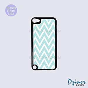 For HTC One M7 Case CoverTiffany Blue Chevron