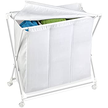 Amazon Com Honey Can Do Hmp 01387 Rolling Laundry Sorter