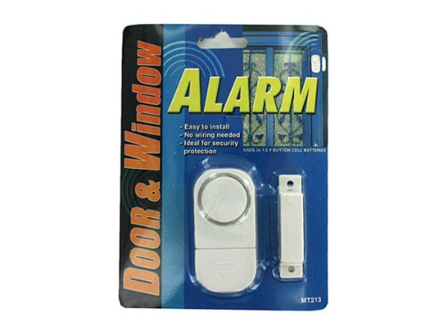 144 Packs of Door and window alarm by bulk buys