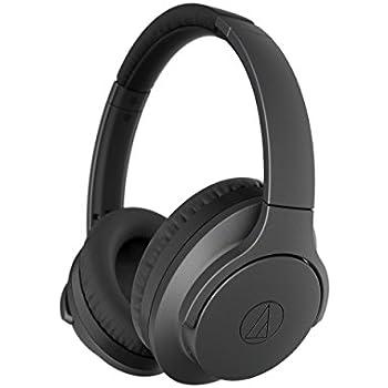 ca463bb26a9 Audio-Technica ATH-ANC700BT QuietPoint Bluetooth Wireless Noise-Cancelling  High-Resolution Audio Headphones, Black