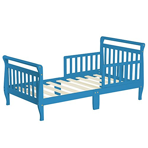 Dream On Me Sleigh Toddler Bed, Wave Blue, by Dream On Me