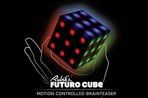 Rubik's Futuro Cube - A new, customizable, 3x3x3 electronic cube with a variety of games, online capability, and multi-player supported!