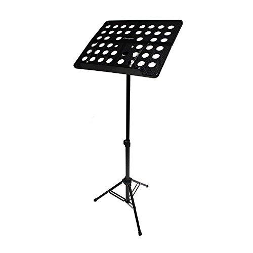 AOLVO plegable ajustable soporte de hoja de música con bolsa de transporte, portátil y adecuado para violín, guitarra,...