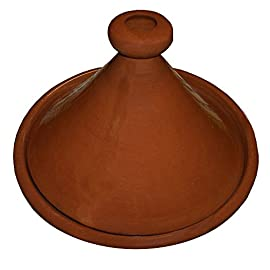 Moroccan Large Lead Free Cooking Tagine None Glazed 12 Inches Authentic Food 47 Measurement: large 11.5 to 12 inches wide Simple and functional, this authentic, handcrafted Moroccan cooking Tagine is ready to be used for your next flavorful and exotic Moroccan meal Ready to be used for cooking on top of any kind of stove and inside the oven