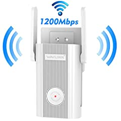 Tired of WiFi dead zones? The WN575A4 repeater is mainly used for providing free WiFi service in big areas such as home, office, department, hotel, store, street etc.  The Repeater can take an existing 2.4GHz or 5GHz wireless signal, r...