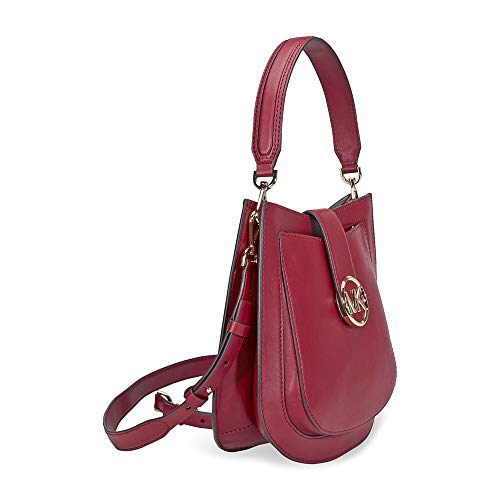 ffa7a3d3c697 Amazon.com: MICHAEL Michael Kors Lillie Messenger Crossbody (Acorn): Shoes