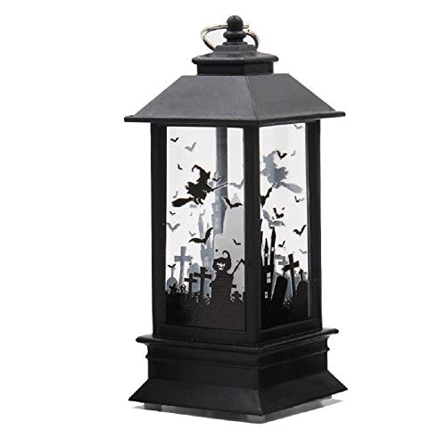 Halloween Christmas Decoration LED Light Lamp Props Outdoor Party Supplies Bar Background Lamp Desktop Decoration (Type A-Large Size)]()