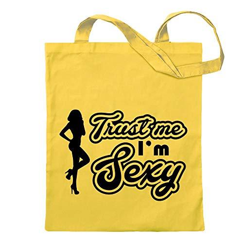Trust me, in the sexy Gogo Girl jute bag printed Design Print Gift Idea ()