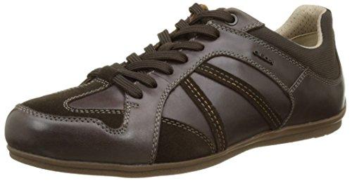 GeoxU Houston A - Zapatillas Hombre Marrón (Chocolatec6005)
