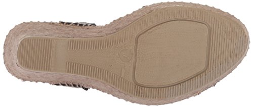 André Assous Women's Charlee Espadrille Wedge Sandal Pewter Mracc4c