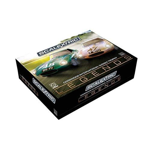 Scalextric C3898A Legends Jaguar E-Type 1963 - Trofeo Internacional para Coche: Amazon.es: Juguetes y juegos