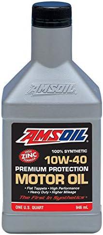 Amazon Com Amsoil 100 Synthetic 10w 40 Premium Protection Motor