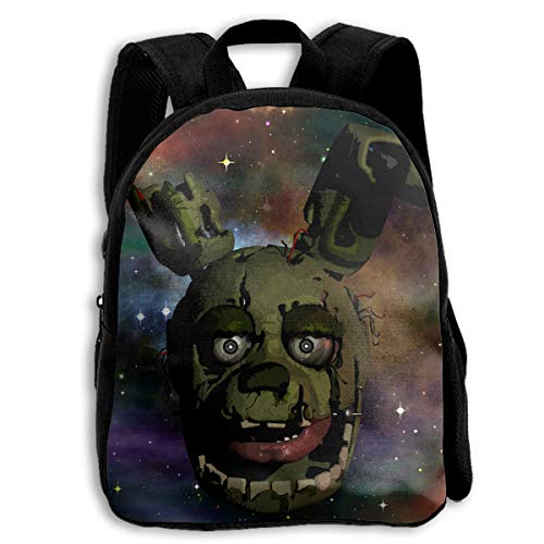 4d87f2af76 Springtrap Five Nights At Freddy s Kid Backpack Boys  Girls  School Bookbag