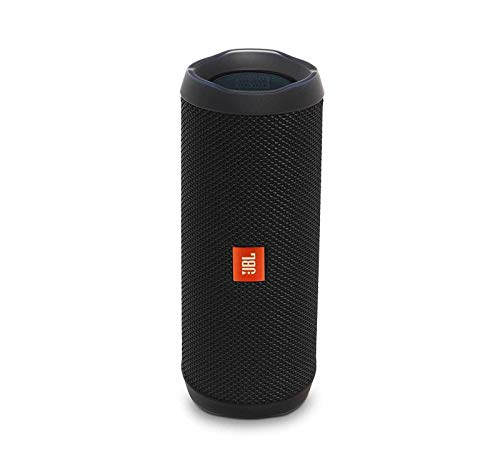 JBL Flip 4 Waterproof Portable Bluetooth Speaker - Black