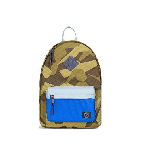 kpack (Camo/Blue) (Linen Everyday Pocket Folder)