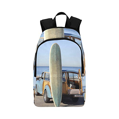 Many Different Surf Boards Casual Daypack Travel Bag College School Backpack for Mens and Women ()