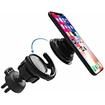 Car Mount for Pop Socket 360 °Rotation Soft Rubber Inside Strong Clip Fast Swift-Snap Technology Car Phone Holder Fit Iphone X/8/8plus/7/7plus Ipad GPS Navigation