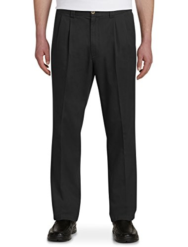 nd Tall Waist-Relaxer Pleated Twill Pants (Twill Double Pleat Pants)