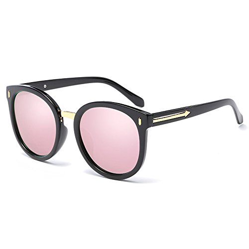 VLCGQI Wayfarer Sunglasses Collection for Men and Women Classic 80's Retro Vintage Fashion Timeless Style Color Bright black box cherry powder polarized light - Timeless Cherry Glass