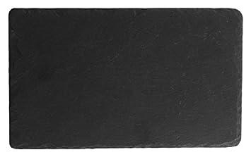 Piatti Cucina In Ardesia : H h ardesia piatto piano rettangolare nero cm pietra