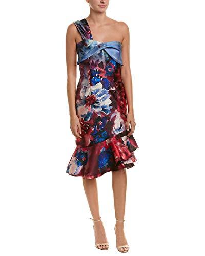 David Meister Womens Cocktail Dress, 2, Blue
