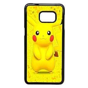 Samsung Galaxy Note 5 Edge Cell Phone Case Black Cartoon Game Pikachu Custom Case Cover A11A570696