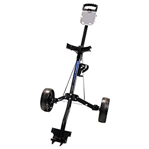 Amazon.com : ProActive Sports Fairway Flyer 603 Golf Push Cart (Charcoal) : Push Pull Golf Carts