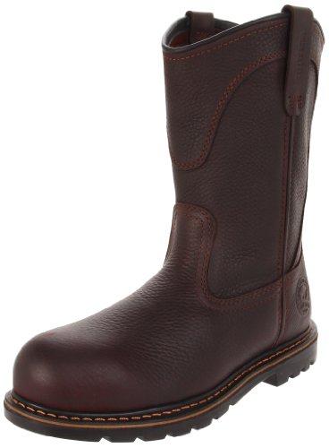 Irish Setter Men's 83904 Wellington Aluminum Toe Work Boot, Brown, 10.5 EE US