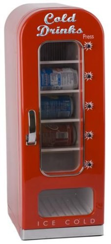 Balvi - Nevera Cold Drinks para 10 latas con dispensador 24203: Amazon.es: Hogar