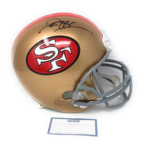 Deion Sanders San Francisco 49ers Signed Autograph Full Size Throwback Helmet Steiner Sports Certified