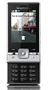 Sony Ericsson T715a Unlocked GSM Phone with 3.15MP Camera, Bluetooth, FM Radio, MP3 Player and microSD Slot - Silver/Black