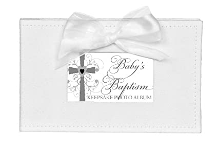The Grandparent Gift Growing in Faith Keepsake Photo Album, Baby Baptism The Grandparent Gift Co. 5072