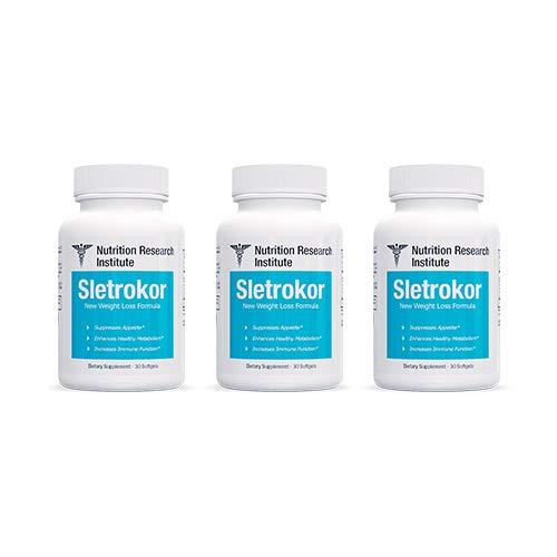 Sletrokor Diet Pills - 3 Bottles - Extra Slim Formula - Metabolism Booster - Made in USA by Sletrokor Diet Pills (Image #6)