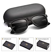 Amazon #DealOfTheDay: Mens Sunglasses Polarized Womens UV 400 Protection 54MM,by LUENX with Case