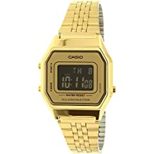Casio Women's LA680WGA-9B Gold Stainless-Steel Quartz Watch