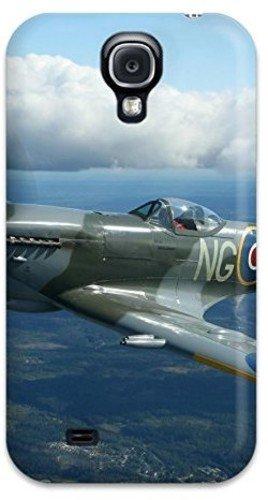 Hard Crystal Premium (New Tpu Hard Case Premium Galaxy S4 Skin Case Cover(supermarine Spitfire Mk 9))