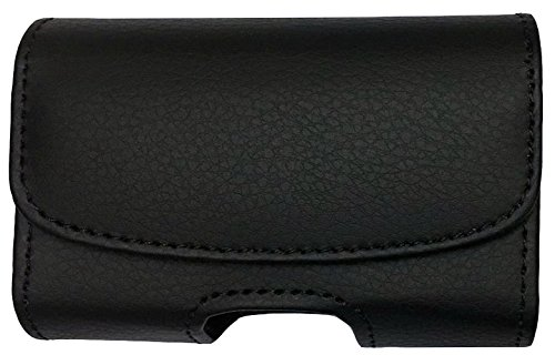 (H1-BLACK/VE) Classic Premium Velcro Pouch Case with Belt Clip FOR Dexcom G5 Mobile CGM System (Display device receiver) -SNK Retail packaging by SNK