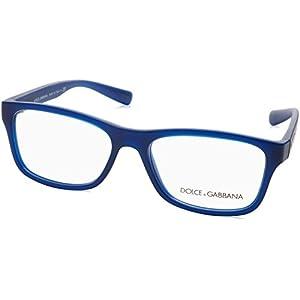 Dolce & Gabbana Men's DG5005 Eyeglasses Matte Transparent Blue 54mm