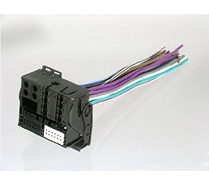 amazon com scosche vw03rb 2002 up volkswagen replacement harness rh amazon com Scosche Wiring Harness 87 Camaro Automotive Wiring Harness