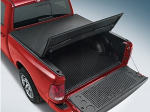 82212184AB Ram 1500 Tonneau Cover - 5.7' RamBox - Hard Tri-Fold w/Fabric...