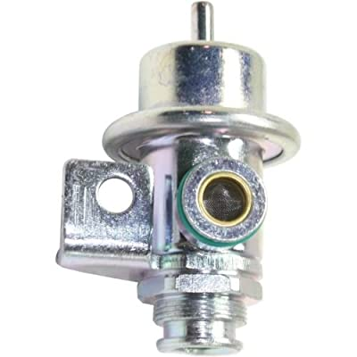 Make Auto Parts Manufacturing - CAVALIER / SUNFIRE 99-02 FUEL PRESSURE REGULATOR, Straight Nipple Orientation, Bolt Mount - REPC318104