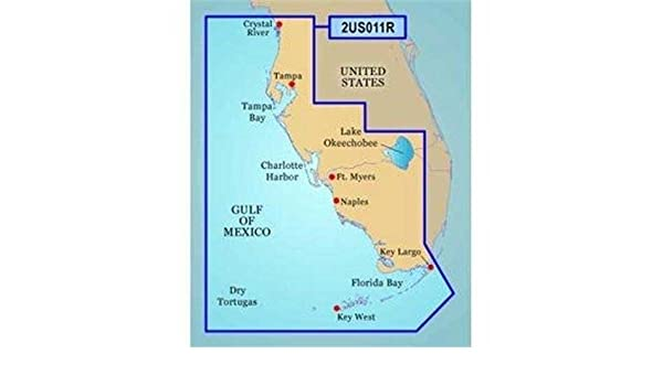 Map Southwest Florida.Amazon Com Garmin Bluechart G2 Southwest Florida Saltwater Map