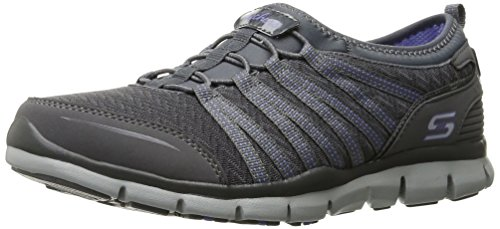 Zapatillas Skechers Púrpura La Carbón Gratis de Mujer Slip On c6cZ4gA