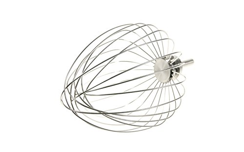 Mixer//Food Processor Accessories Kenwood Electronics KW716840 Whisk Whisk, Silver, Chromium-vanadium steel, Major Chef, Cooking Chef, 1 pc s